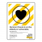 1975 Be Kind2. Check In On The Elderly Or Vulnerable