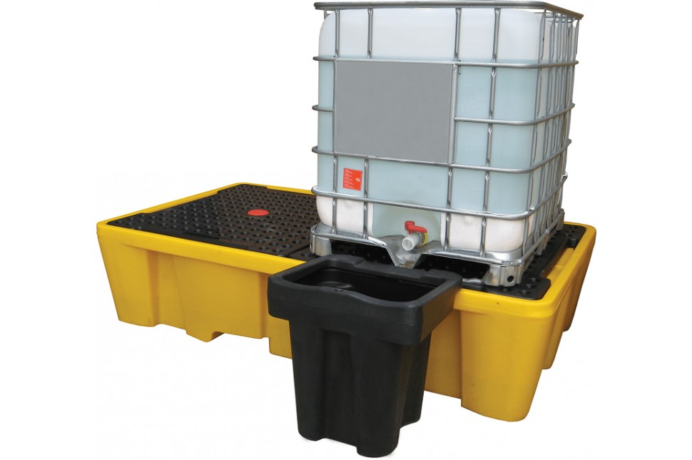 46 IBC2 D Double IBC Spill Pallet Dispenser2
