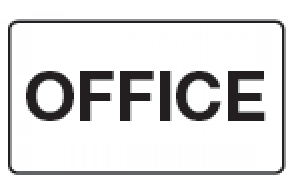 Office PVC Sign