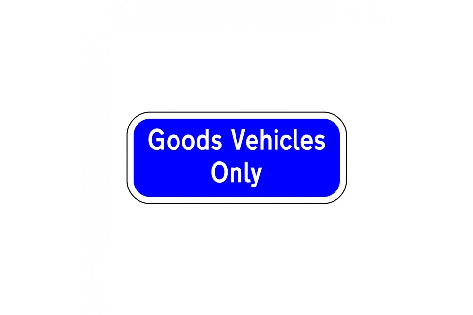 RP7.1 GOODS VEHICLES ONLY