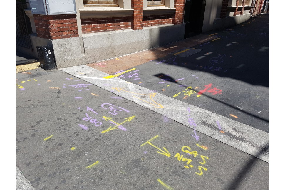 Soppec paint markings CBD Wellington 1
