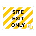 1910 Site Exit Only