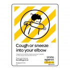 1974 Cough Or Sneeze Into Your Elbow