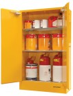 47 F250 Flammable Cabinet 250L Open