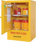 47 F30 Flammable Cabinet 30L Open