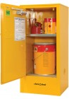47 F60 Flammable Cabinet 60L Open