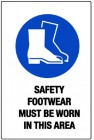 safety footwear area